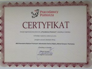 Certyfikata PP